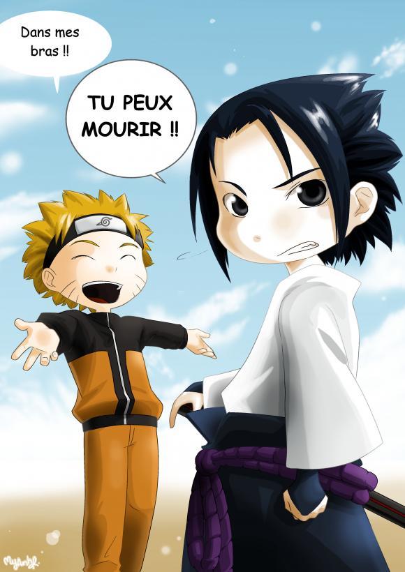 dans more de rire Naruto